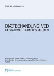 Diætbehandling ved Gestationel Diabetes Mellitus - Foreningen af ...