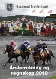 Årsberetning 2010 - Det Norske Travselskap