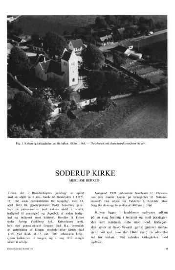 SODERUP KIRKE - Danmarks Kirker