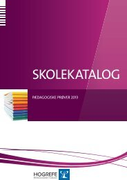 Se vores Skolekatalog fra 2013 - Hogrefe.dk