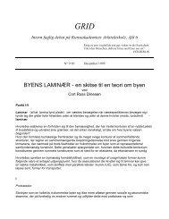 9/10. byens laminær - Kunstakademiets Arkitektskole