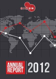 Annual Report 2012 - GIMUN | Geneva International Model United ...