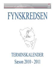Sted - Danmarks Gymnastik Forbund