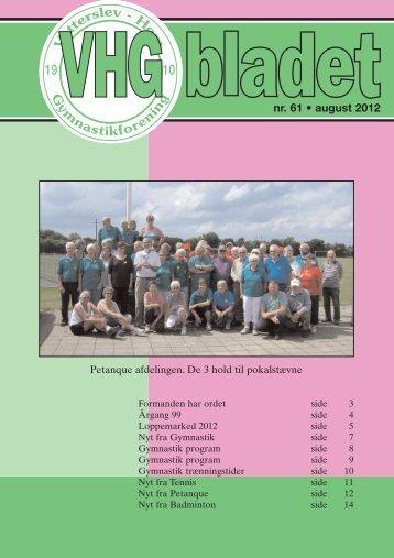 16 sider august 2012 - Vetterslev Høm gymnastikforening
