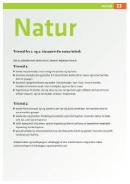 Lærervejledning til natur
