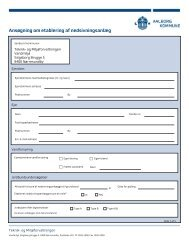Ansøgning om etablering af nedsivningsanlæg - Aalborg Kommune
