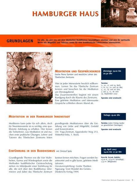 PROGRAMM - Tibetisches Zentrum ev