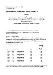 Her kan du se Lovforslag L34 vedrørende kaffe, te ... - Dansk Erhverv