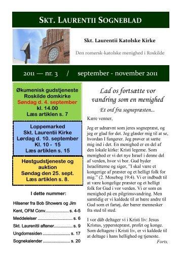 Lad os fortsætte vor vandring som en menighed - Sankt Laurentii Kirke