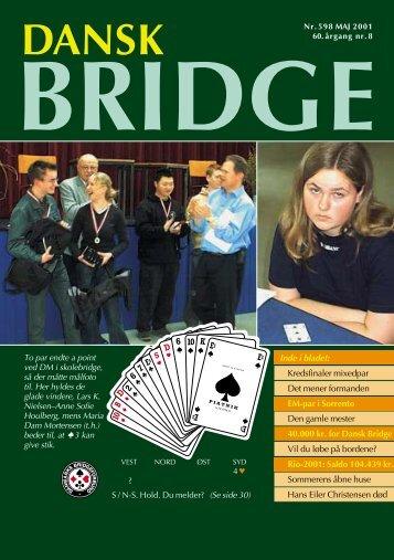 Dansk Bridge nr. 598 - Danmarks Bridgeforbund