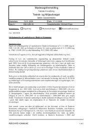 Mødesagsfremstilling Teknik- og Miljøudvalget - Rødovre Kommune