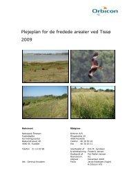 Plejeplan for Tissoe – 2009 - Naturpark Åmosen