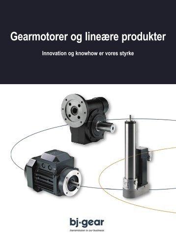 Gearmotorer og lineære produkter - Bigbook