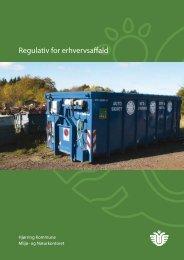 Regulativ for erhvervsaffald - Hjørring Kommune