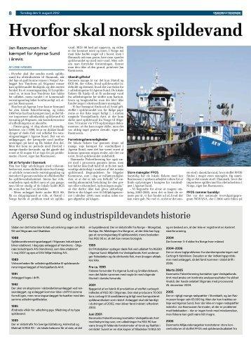 Hvorfor skal norsk spildevand renses i Da - WebKontrol V.5   Bakuri ...