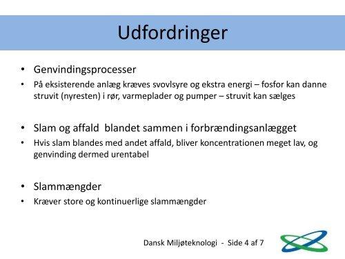 Ikke mere udledning af urenset spildevand - Dansk Miljøteknologi