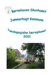 læreplaner - Jammerbugt Kommune