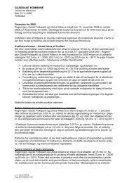 finanslov 2009.pdf - Gladsaxe Kommune