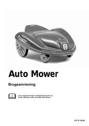 OM, Automower, Auto Mower, 2001-04 - Husqvarna
