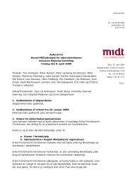 Referat fra mødet d. 8. april 2008 - Region Midtjylland