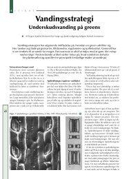 Vandingsstrategi - Turfgrass