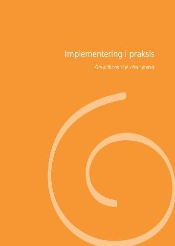 Implementering i praksis - ProjektTræning