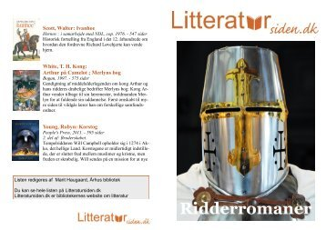 Ridderromaner / PDF-liste - Litteratursiden