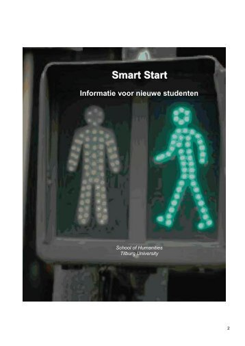 Smart Start programmaboekje bachelor humanities - Tilburg University