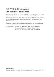 UNIVERSUM präsentiert: Im Reich des Steinadlers - ScienceVision
