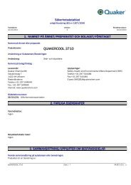 QUAKERCOOL 3710 - AAK