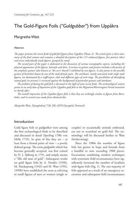 (PDF) Benmaterialet frn Uppkra 98:2 - preliminra resultat