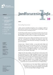 2010/1 - Videncenter for Jordforurening