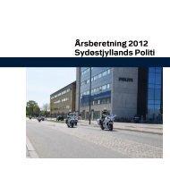 Beretning til Kredsrådet om 2012 - Politi