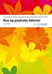 Rus og psykiske lidelser, serviceerklæring - Helse Stavanger