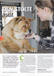 Vi med hund - Dansk Chow Chow Klub