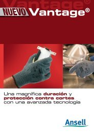 VANTAGE® 70-765/766 - Ansell Healthcare Europe
