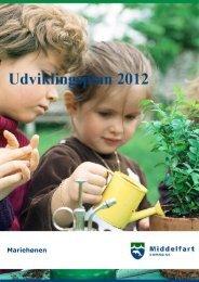 Udviklingsplan(PDF) - Mariehønen Middelfart