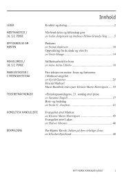 Nytt norsk kirkeblad nr 6-2007 - Det praktisk-teologiske seminar