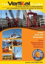 Cranes Aerial Lifts Telehandlers Grúas Manipuladores Telescópicos ...