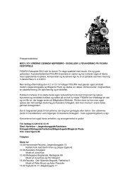 Pressemeddelelse MED LYD I ØRERNE ... - Figura Ensemble