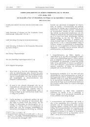 Europa-Parlamentets og Rådets forordning (EU) nr. 995/2010 af 20 ...