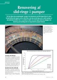 Renovering af slid-ringe i pumper - Techmedia