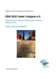 Udgravningsberetning Vester Voldgade (KBM 3928) - Københavns ...
