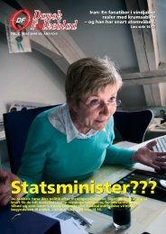 Statsminister??? - Dansk Folkeparti