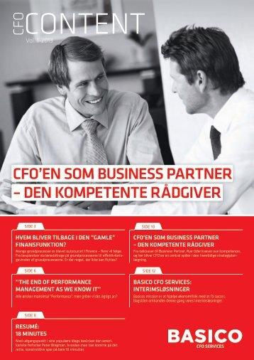CFO Content årgang 10, Vol.1 2013 - Basico
