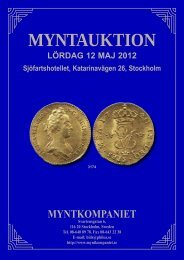 Myntauktion 1 - Philea