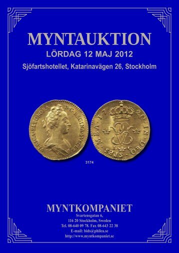 Myntauktion 1 - Philea