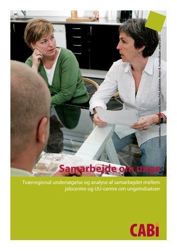 Læs rapporten Samarbejde om unge - analyse - Cabi