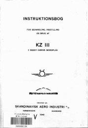 INSTRUKTIONSBOG _1 - KZ & Veteranfly Klubben