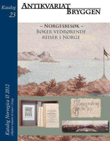 23 – Norvegica II - Antikvariat Bryggen
